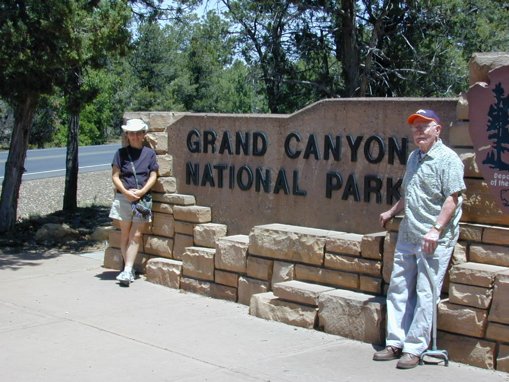 Grand Canyon with Uncle Teen